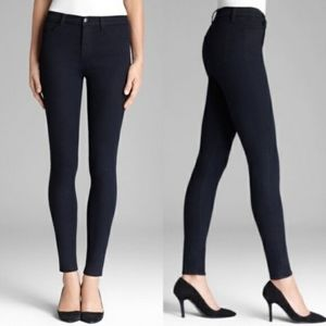 J Brand Maria VGUC High Rise in Lapis - Dark Wash